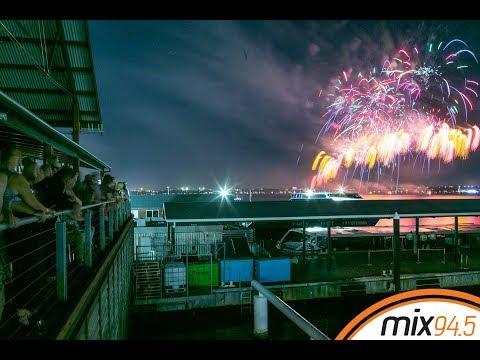 The City Of Perth Australia Day Skyworks Time-Lapse | Mix945 | Mix945