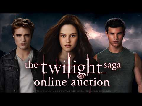 THE TWILIGHT SAGA ONLINE AUCTION - Original Props and Costumes Used in the Films