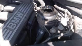Замена жидкости в гур BMW E92 325, E60 E61 N52N