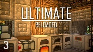 FTB Ultimate Reloaded Modpack Ep. 3 Plastic Automation + Cobblestone Generator