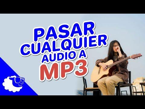 Como convertir cualquier audio a mp3 sin programas