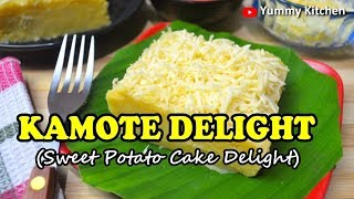 Camote Delight (Sweet Potato Cake)