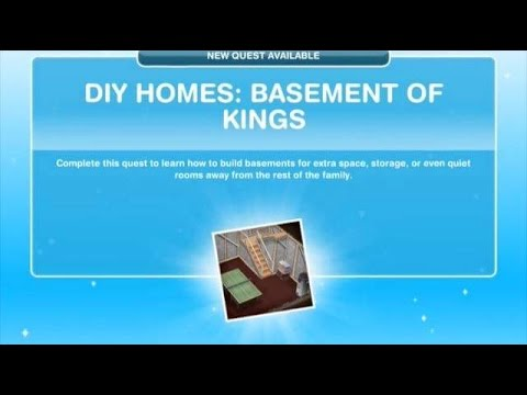 [The Sims Freeplay] – DIY Homes: Basement Of Kings Görevi