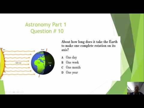 Astronomy Earth-Moon-Sun SOL Review