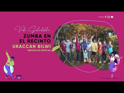 Vida saludable: Zumba en el recinto URACCAN Bilwi