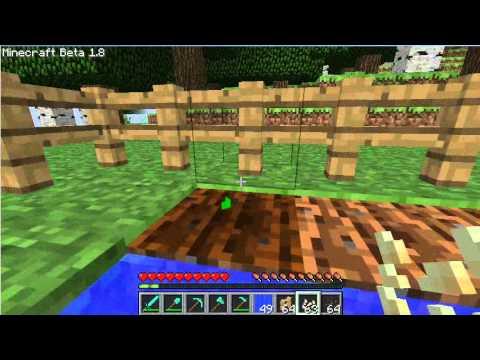 Minecraft Туториал:Как вырастить арбуз и тыкву