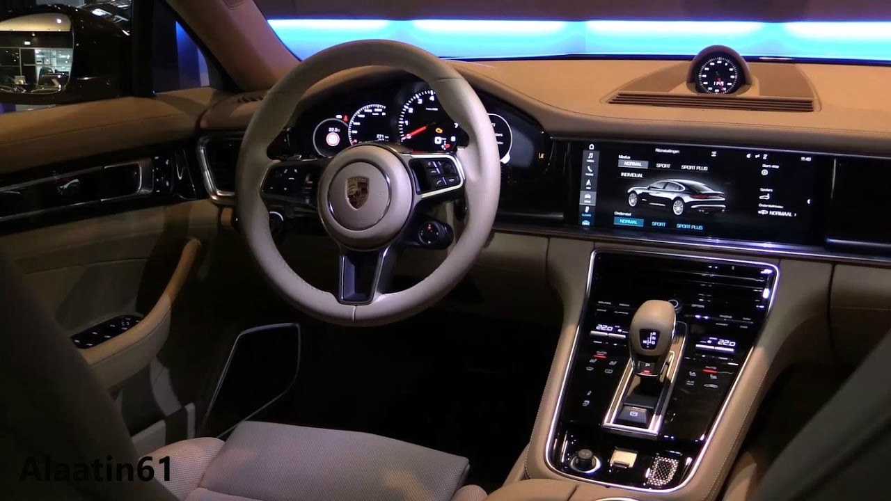 porsche panamera 2017 interior youtube. Black Bedroom Furniture Sets. Home Design Ideas