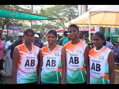 TamilNadu's Senior Girls Won 4x100 M Relay National Schools Athletics 2016