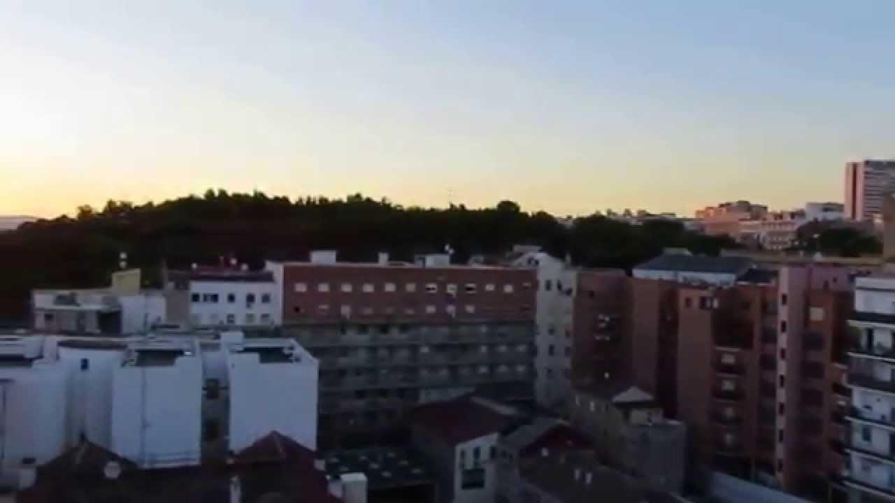 Atardecer En Madrid Desde La Terraza De Los Apartosuites Jardines De Sabatini