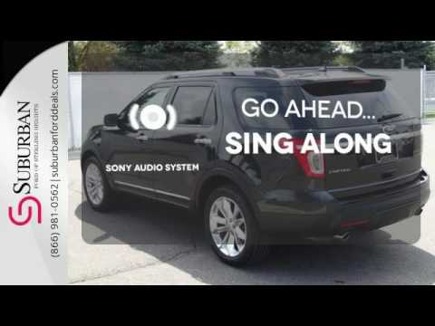 Used 2013 Ford Explorer Sterling Heights, MI #LP17318. Suburban Ford Mazda  ...