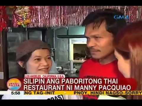 UB: Silipin ang paboritong Thai restaurant ni Manny Pacquiao