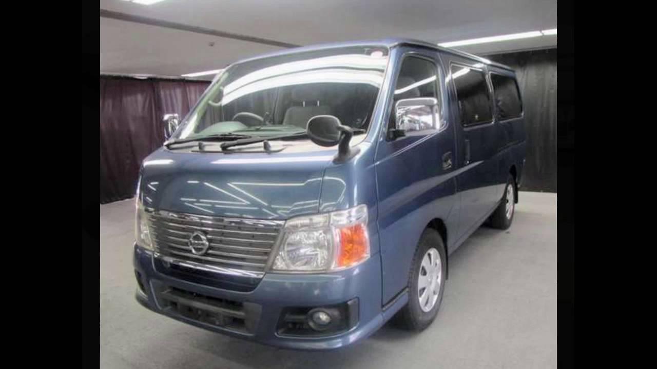 Nissan Caravan 2006 2 4l Petrol 120kms Grade 4 Youtube