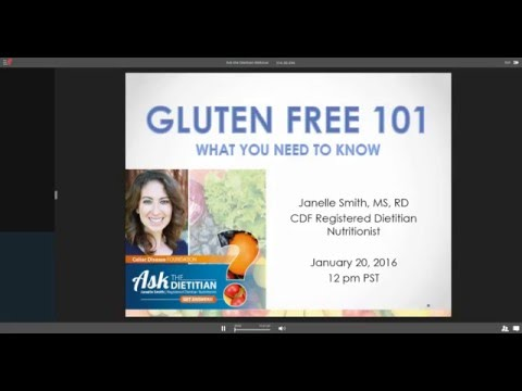 Ask the Dietitian Webinar: Gluten-Free 101