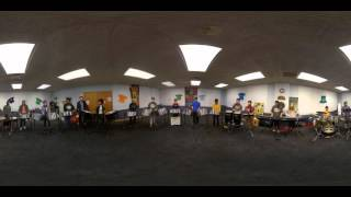Cheerleader by OMI in 360 VIDEO ~ The Louisville Leopard Percussionists Steel Leopards