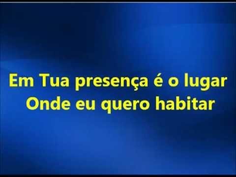 Em Tua Presença - Fernanda Brum(playback legendado)