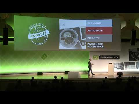 QtWS18 – Fighting Driver Distraction by Fabrizio Monaco, TomTom