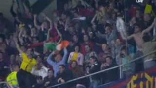 real madrid vs barcelona 0 2 all goals 10 4 2010 messi