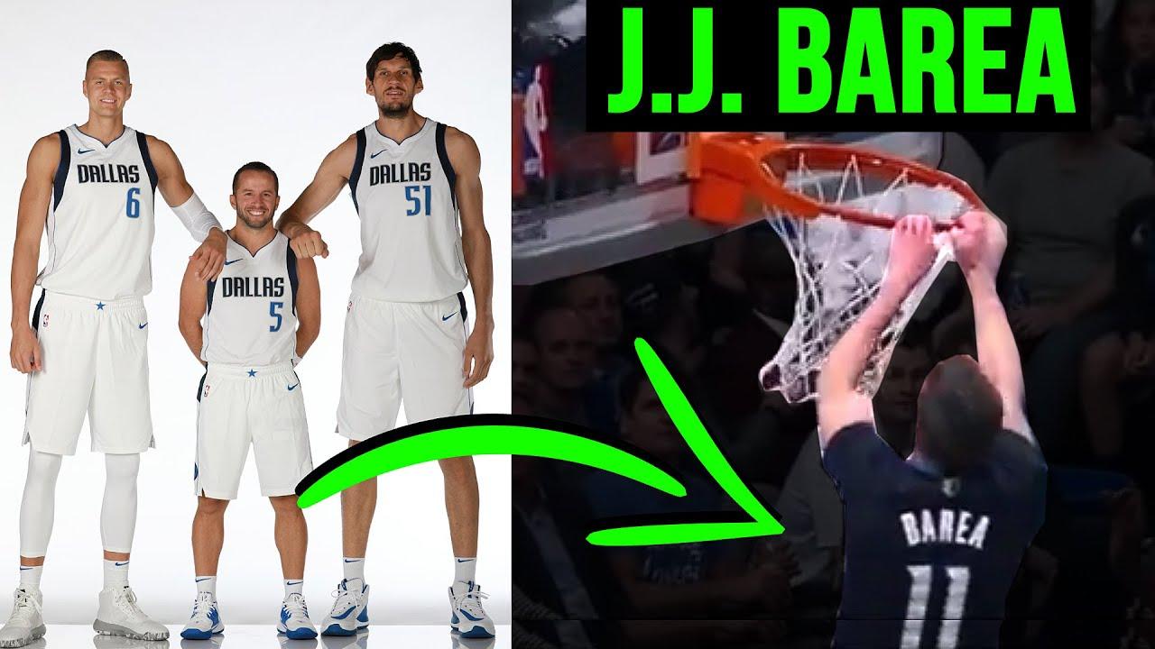 Proof That JJ BAREA CAN DUNK! 9 Forgotten NBA Dunks