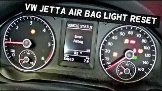 HOW TO RESET THE AIR BAG LIGHT ON VOLKSWAGEN AIRBAG