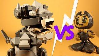 Бій: Бенді і чорнило машина проти дракона Лего Ниндзяго відео