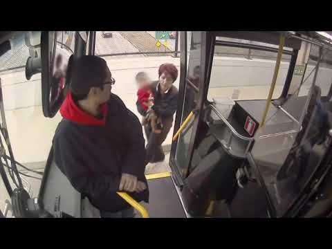 Eric Hunter - Bus Driver Rescues Toddler Wandering Around In The Cold On A Busy Street