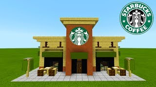 "Minecraft Tutorial: How To Make A Starbucks ""2019 City Tutorial"""