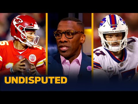 Bills beat Chiefs in weather-delayed AFC Championship rematch - Skip & Shannon I NFL I UNDISPUTED