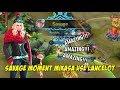 Amazing SAVAGE Lancelot di Pake Mikasa Skill 1 Gak Ada Habis nya COY !!!
