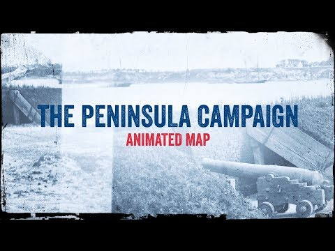 The Peninsula Campaign: Animated Battle Map
