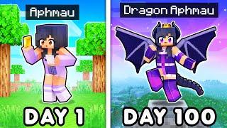 100 DAYS as a DRAGON  n Minecraft