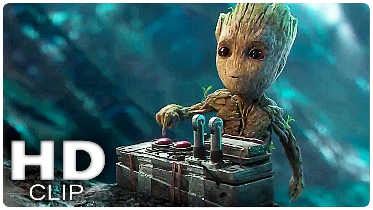 BABY GROOT Movie Clip | Guardians of The Galaxy Vol. 2 (2017)