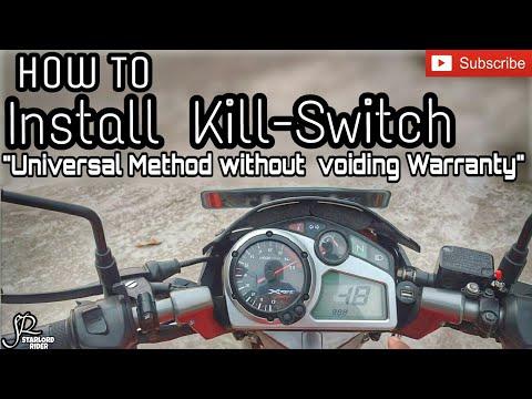 Installation of Engine Kill-Switch | Easy & Cheap way | Hero Xtreme Sport ||SR||