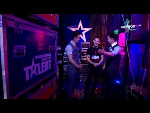 Mongolia's got talent 2016 Shijirbat Insane talent with TV!!!