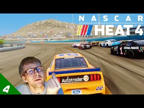 I'm a Little Bitch | NASCAR Heat 4 w/Joey Logano |