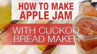 How to make APPLE JAM using Cu…