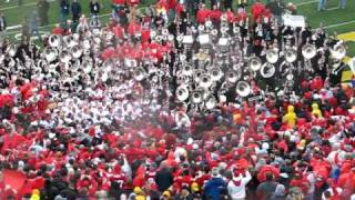 Nov 17 2007 - OSU Band Plays Carmen Ohio in Michigan Stadium