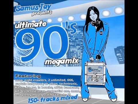 Samus Jay - Ultimate 90's Megamix (150+ tracks in 40 minutes)