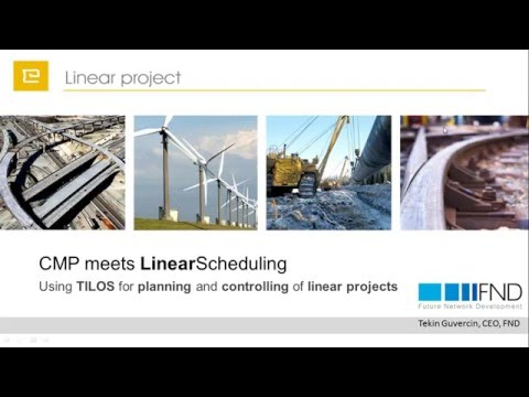 Metro and Tunnel Projects: scheduling & controlling in TILOS - T13