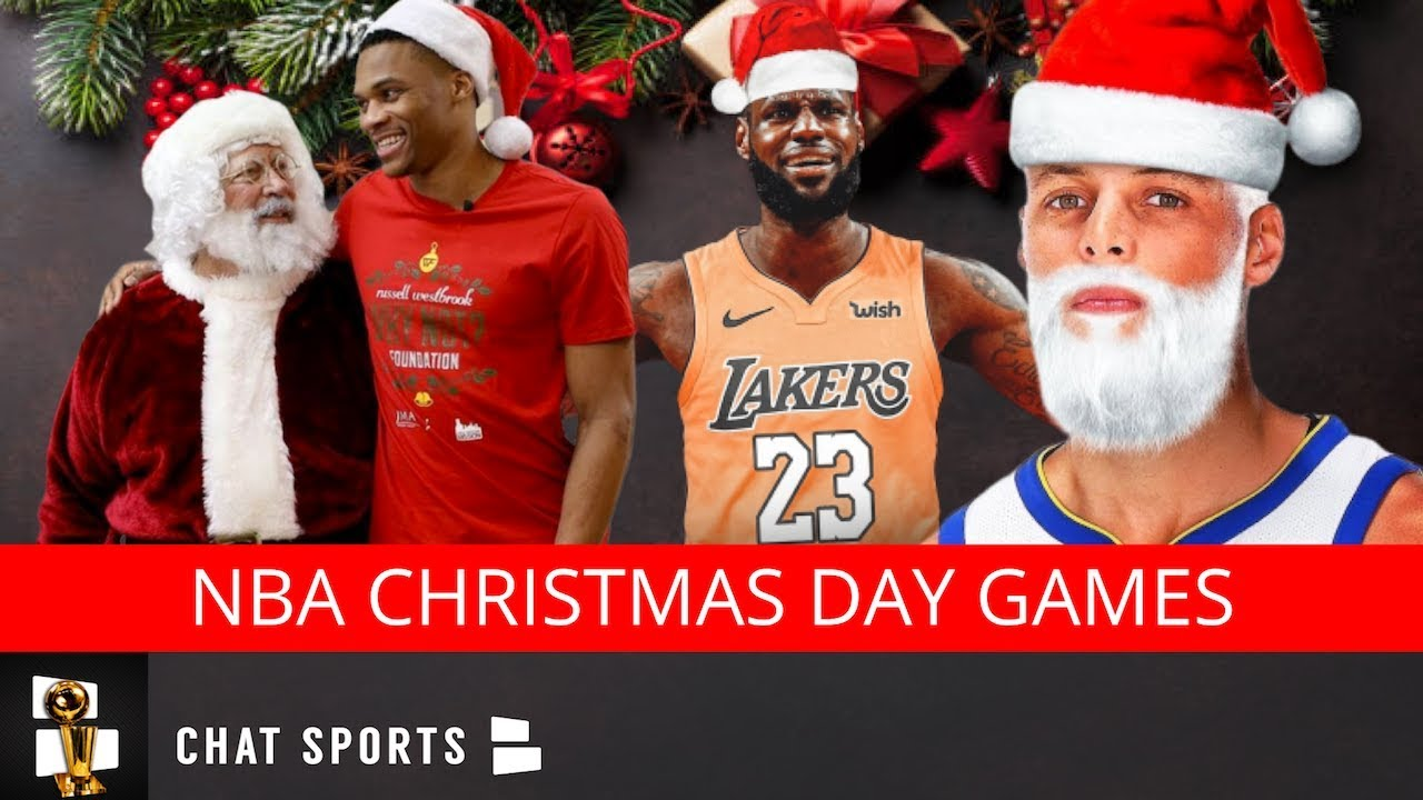 Nba Christmas Day Schedule.Nba Schedule 2019 20 5 Christmas Games Announced Ft Lakers Warriors Clippers Rockets 76ers
