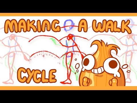 Alternative Walk Cycle Method with Silvio