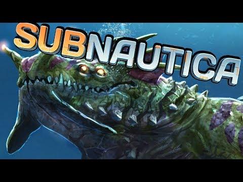 SEA DRAGON LEVIATHAN   SUBNAUTICA 1.0 - PART 16
