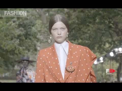 ERDEM Highlights Spring Summer 2020 London - Fashion Channel