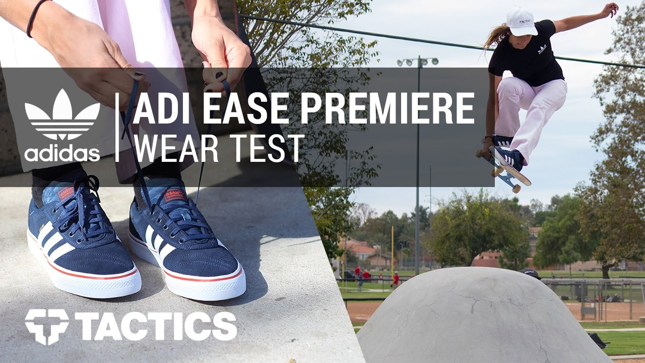 Adidas Adi Ease Premiere Skate Shoes Wear Test Review with Nora Vasconcellos
