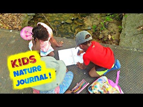 kids Nature Journal ! {children outdoors}