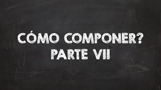 COMO COMPONER TU PROPIA MÚSICA PARTE 7 - LAS ESCALAS RELATIVAS