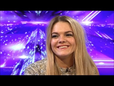 The Xtra Factor UK 2015 Week 7 Finale Louisa Johnson Interview Full
