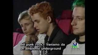 Green Day Interview on Videomusic Italy 1994 [part 1]