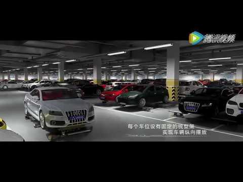 China automatic parking robot