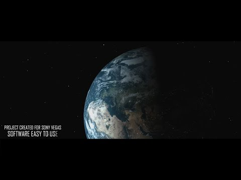 FREE TEMPLATE SONY VEGAS PRO 11 - 12 - 13 OUR EARTH PLANET [TAME PRODUCCIONES]