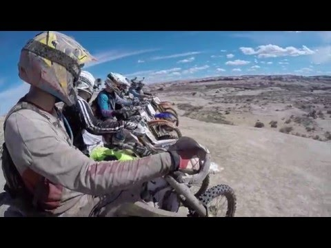 Moab 2016 Dirt Bike Trip